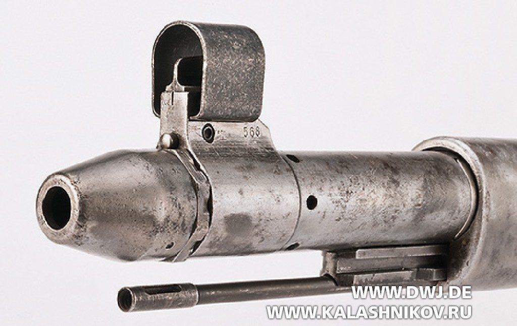 Винтовка Gewehr 41 (Walther). Газовая камера и мушка
