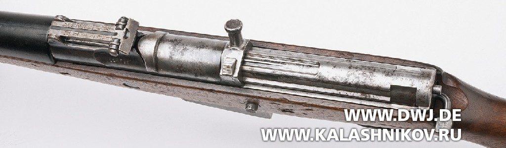 Винтовка Gewehr 41 (Walther). С закрытым затвором