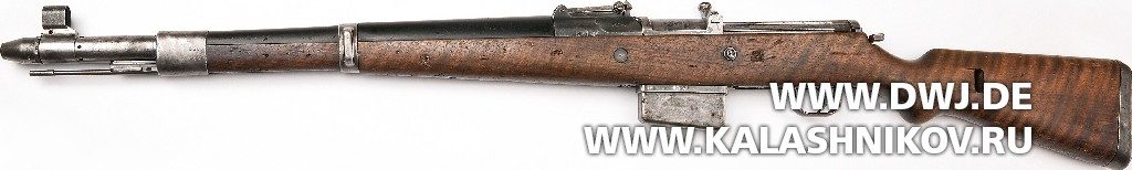 Винтовка Gewehr 41 (Walther). Вид слева