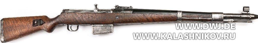 Винтовка Gewehr 41 (Walther). Вид справа