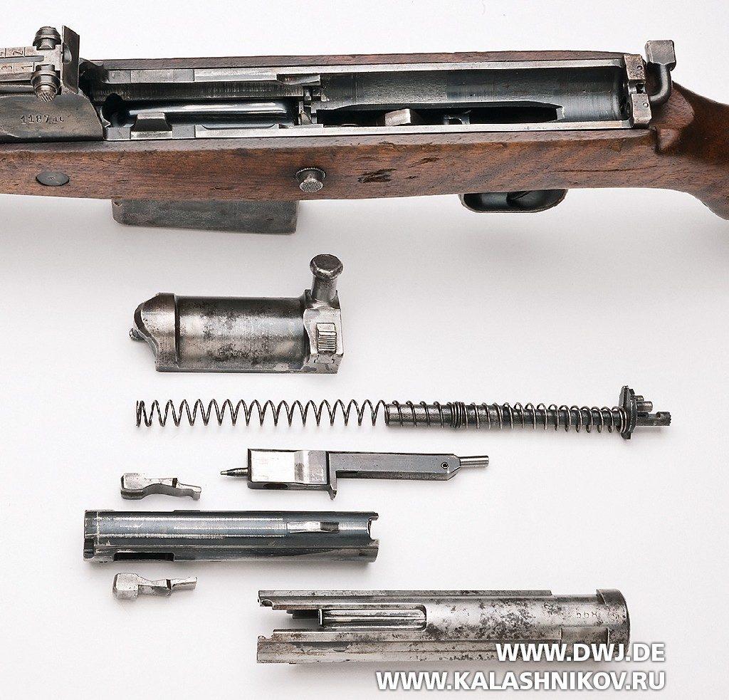 Винтовка Walther Gewehr 43. Неполная разбока