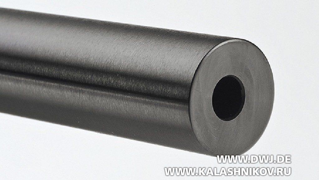 Высокоточная винтовка Tikka T3x Varmint. Дульный срез