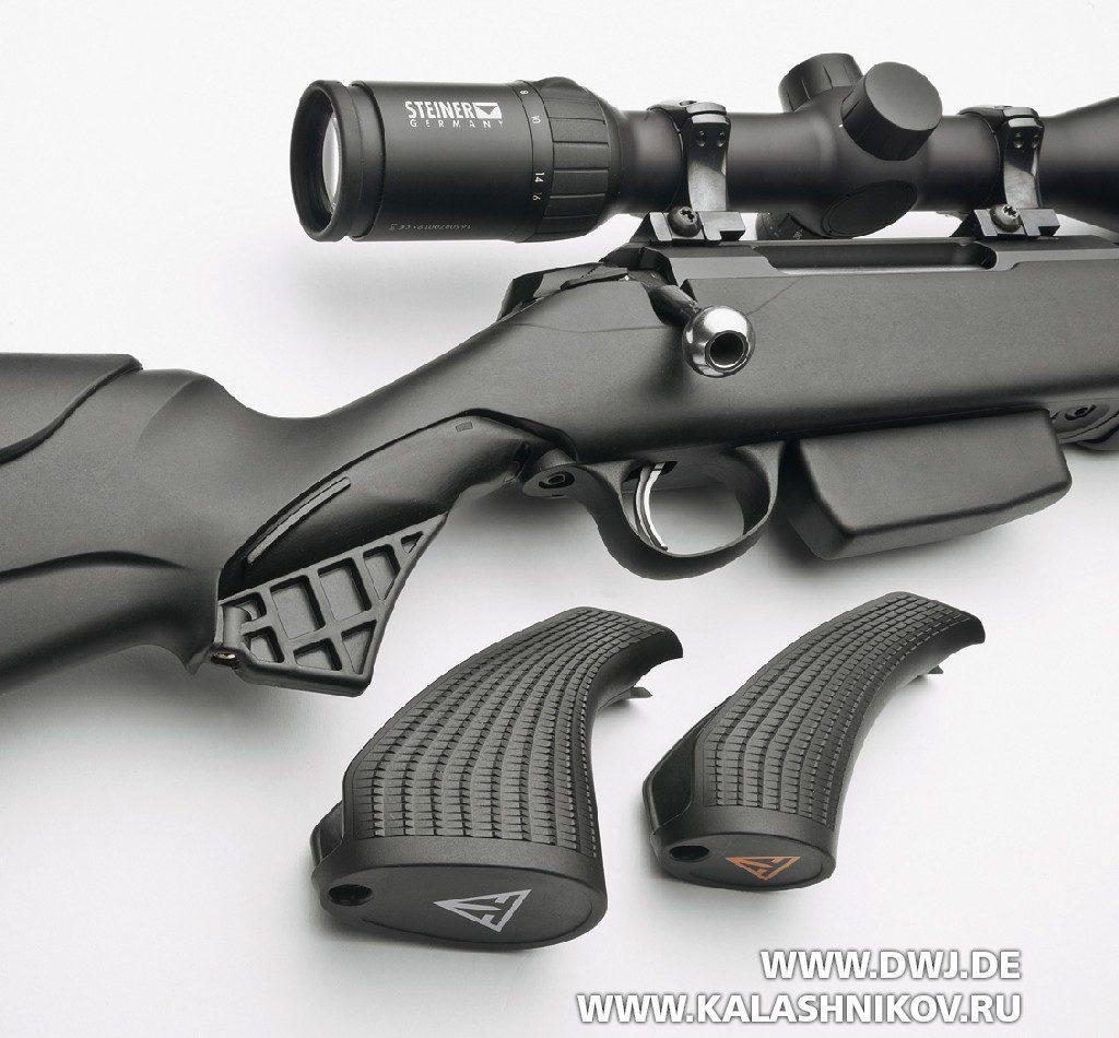 Высокоточная винтовка Tikka T3x Varmint. Сменные рукоятки