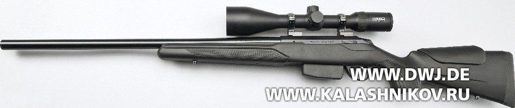 Высокоточная винтовка Tikka T3x Varmint. Вид слева
