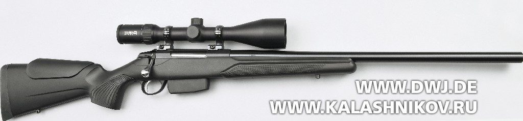 Высокоточная винтовка Tikka T3x Varmint. Вид справа