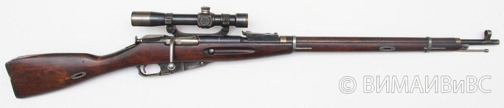 Отечественная 7,62-мм снайперская винтовка обр. 1891/30 г. 1939 года изготовления