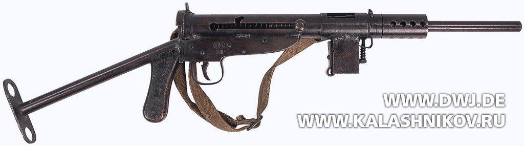 submachine gun Blohm & Voss