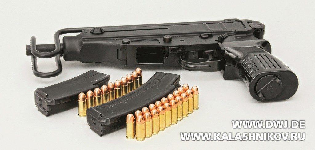 пистолет-карабин CSA vz.61Scorpion