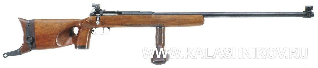 ЦВ-55 «Зенит», гриб, затыльник, ложа, thumbhole