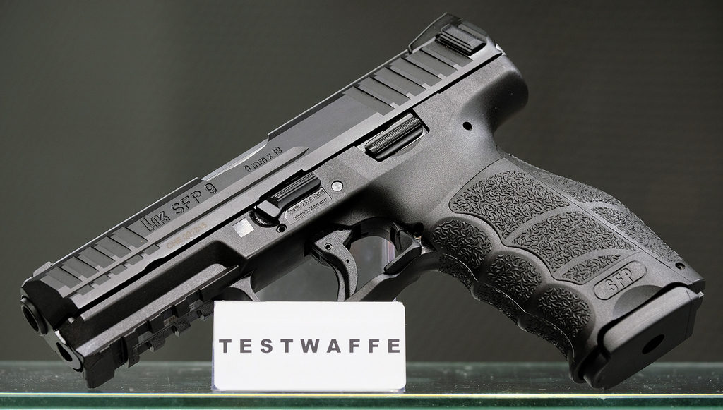 Heckler &Koch, SFP9, 9x19, пистолет