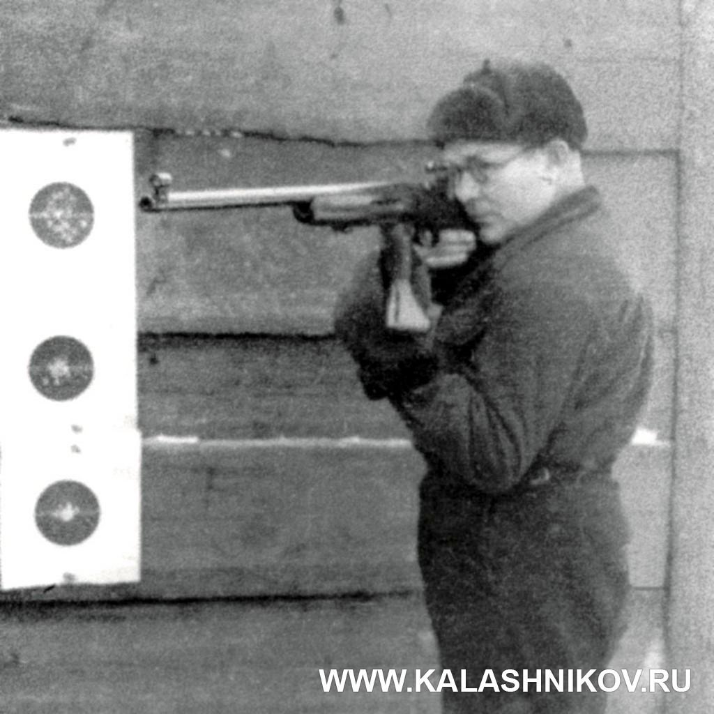 Е. Ф. Драгунов, спортивная винтовка