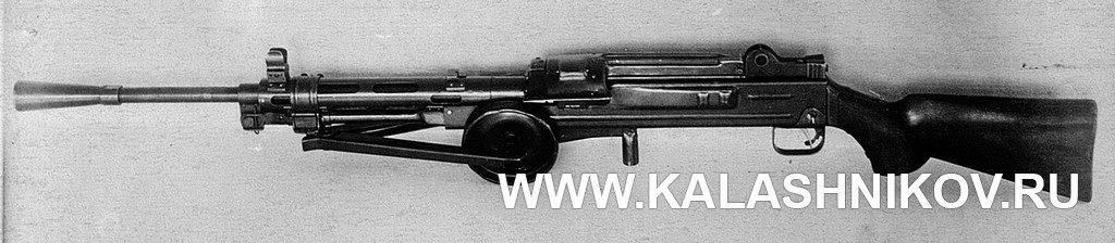 ГВГ, пулемёт, сошка, пламегаситель, приклад