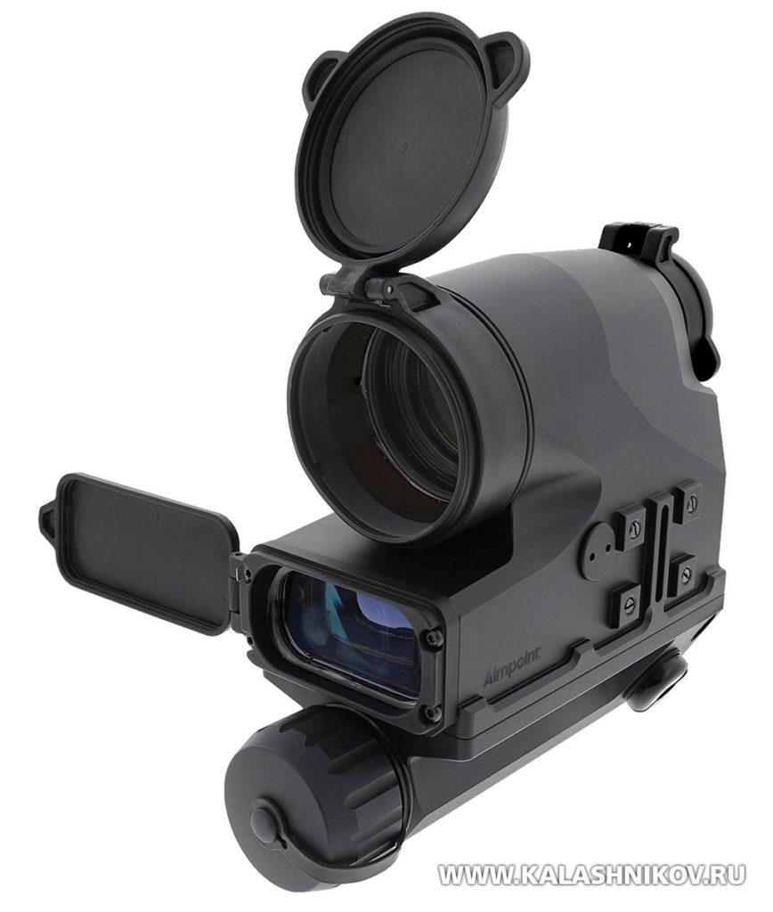 Aimpoint FCS13RE, система управления огнём, лазерный дальномер, батарея, коллиматорный прицел, баллистический калькулятор