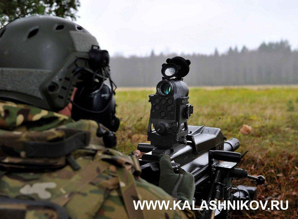 Aimpoint FCS13RE, гранатомёт, Mk 19, 40 мм, HV, умная граната, станковый гранатомёт