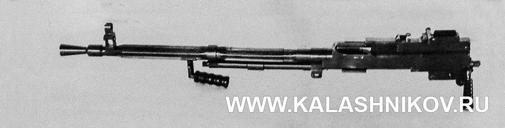 ДС-42, стреляющее устройство, сменный ствол, гашетка