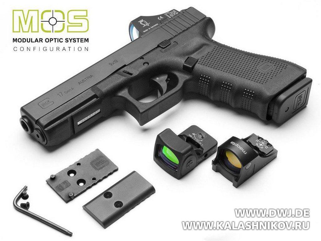 Glock, MOS, оптика, коллиматор