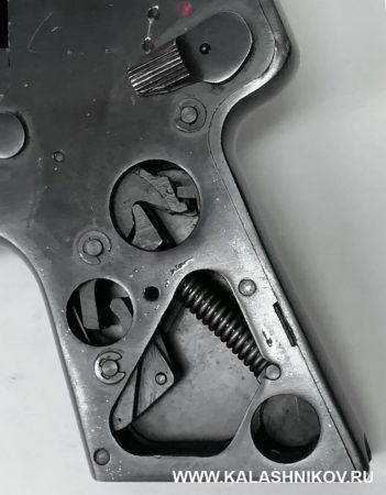 С-4М, рукоятка, конструкция, оси, шайбы