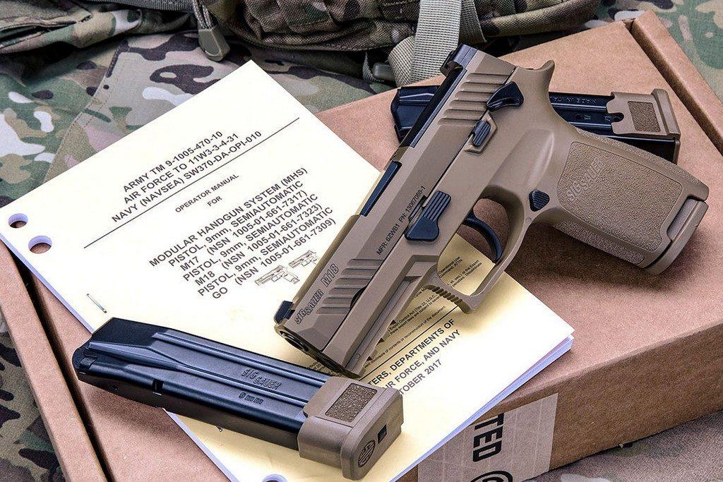 Пистолет М18, магазины, инструкция