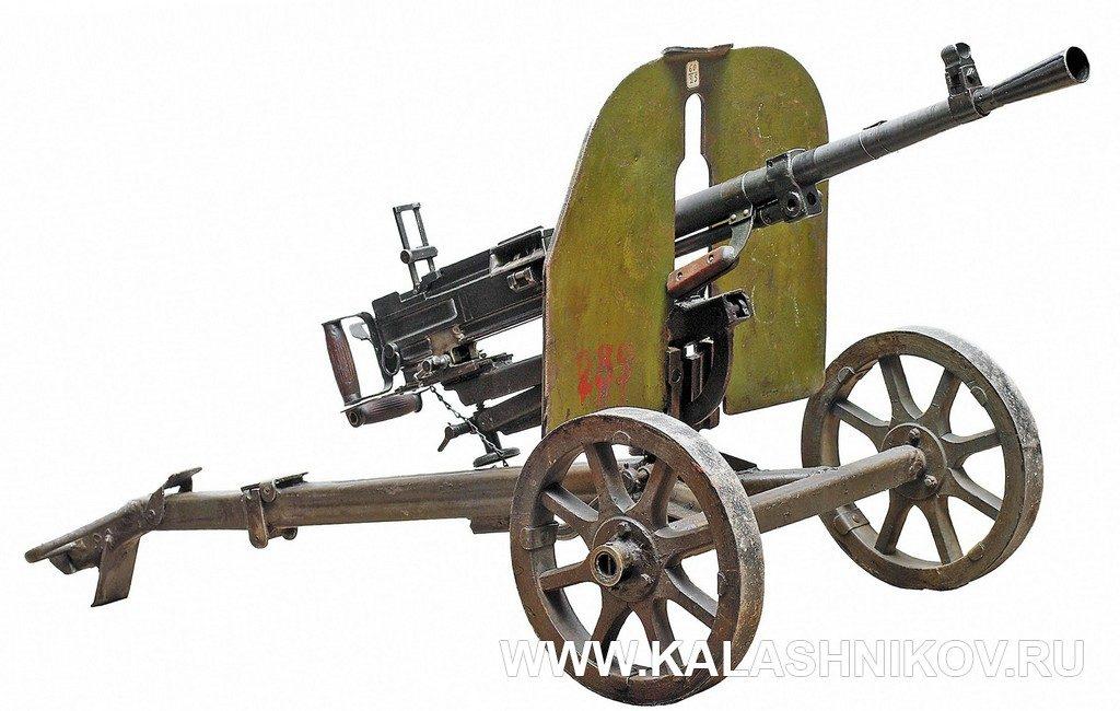 сг-43, станок, щиток, пулемёт