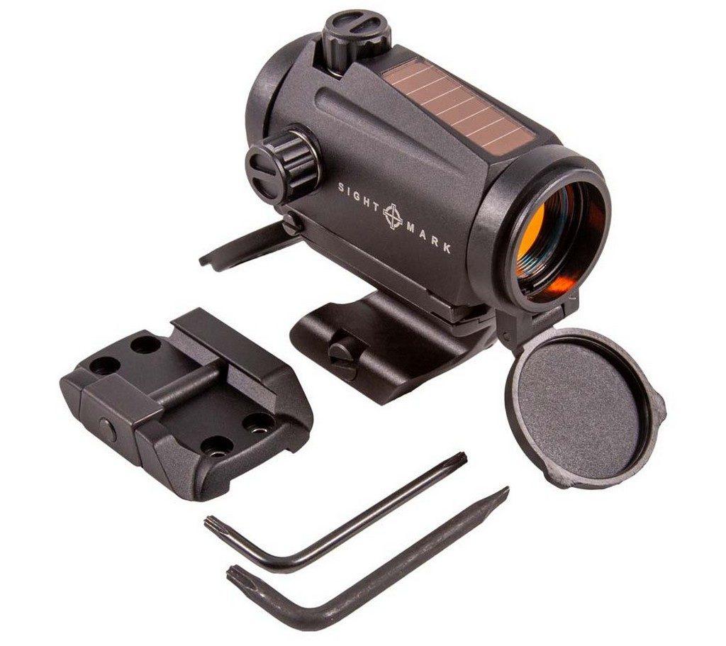 Sightmark, Element Mini Solar, ключ, torx, солнечный элемент