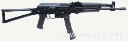 Пистолет-карабин «Вепрь-9», молот оружие, рамочный приклад, чёрное цевье, магазин пуфган