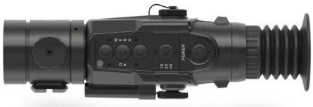 Dedal-T2.380 Hunter, кнопка, окуляр, тепловизор, объектив, дедал, прицел