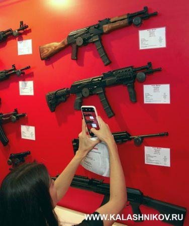 Пистолет-карабин «Вепрь-9», молот оружие, армия 2020, парк патриота, 9 мм люгер, 9 мм парабелум