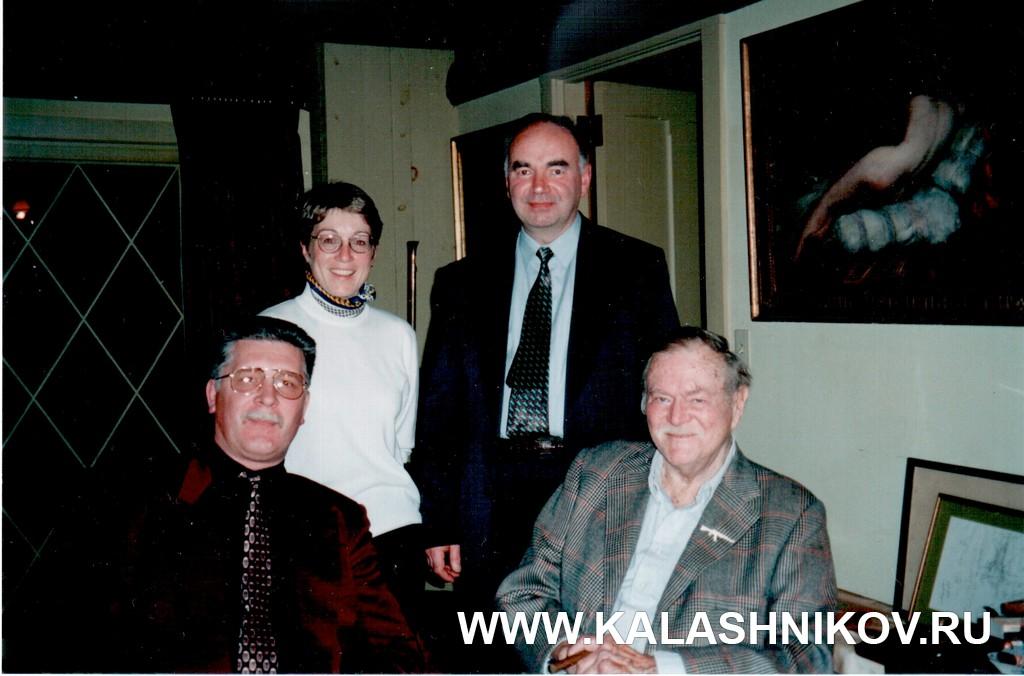 Геннадий Никонов, Билл Ругер, Валерий Шилин, Вирджиния Изел