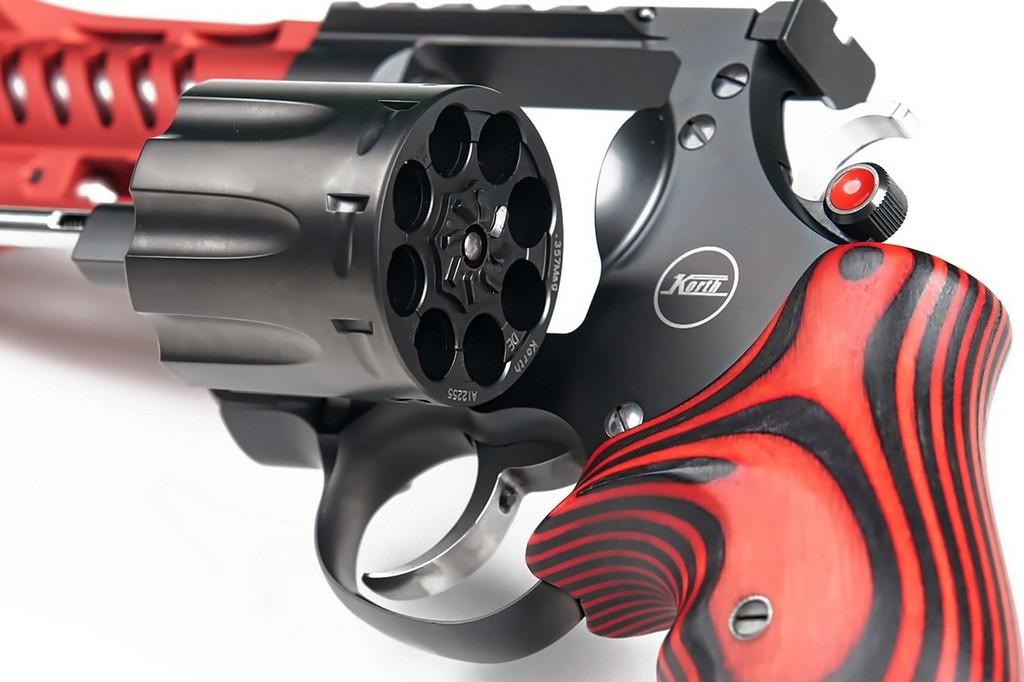Револьвер Korth NXA .357 Magnum, барабан, каморы