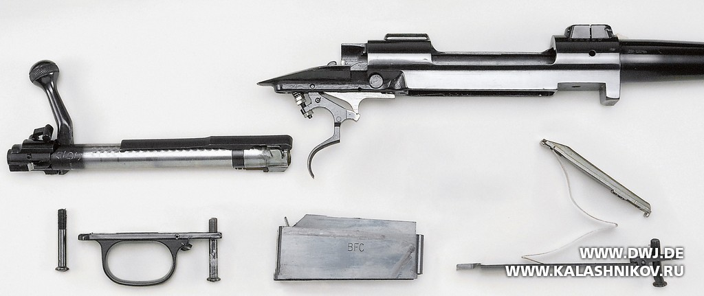 Mauser 98, Winchester 70