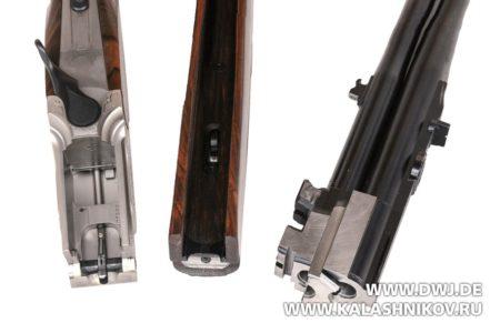 Krieghoff Bockbuechse Ultra 20 TS, разборка ружья