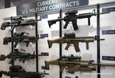 FN America, M4 rifle, FN SCAR, M249 SAW, Minimi, M240 machine gun