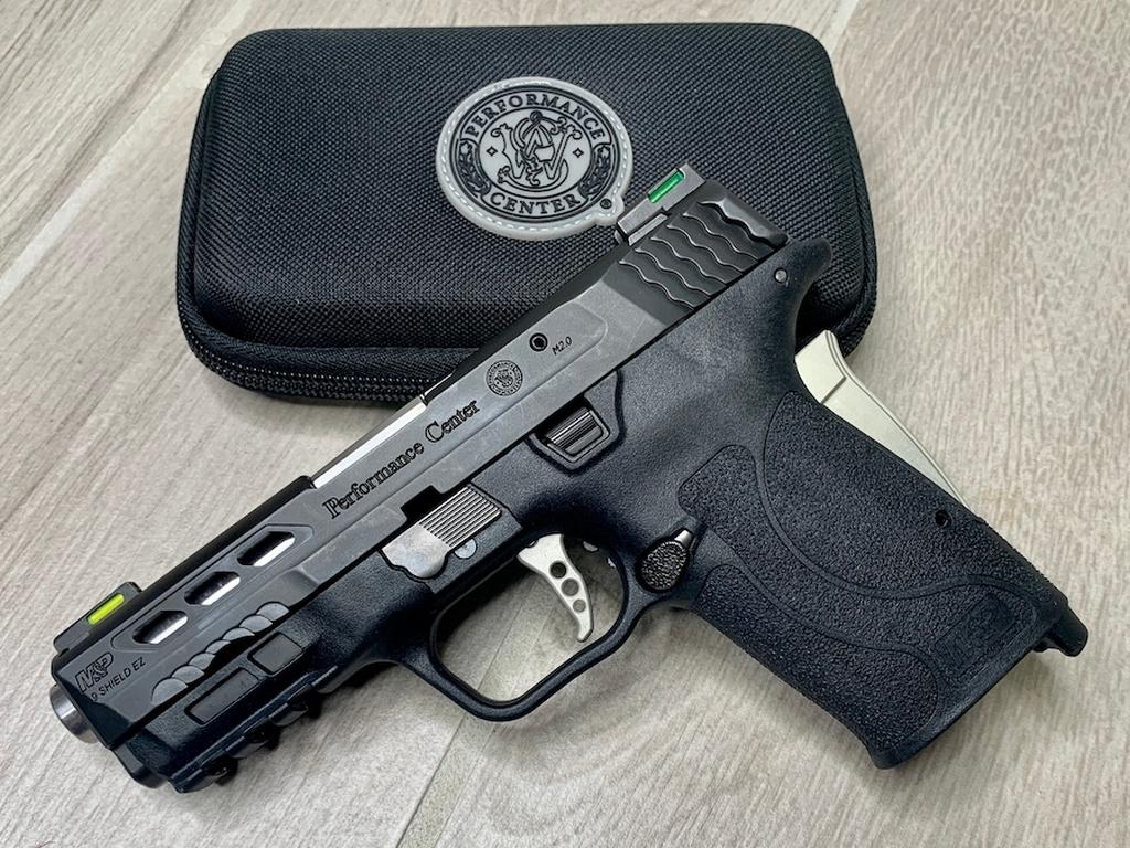 M&P9 Shield EZ, silver