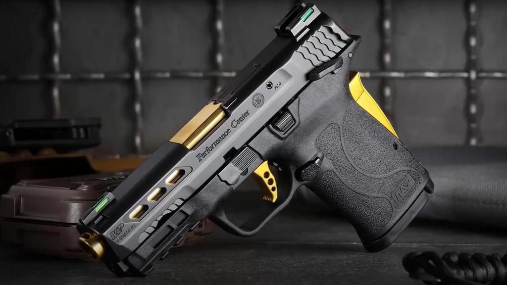 M&P9 Shield EZ, gold