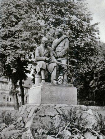 Памятник Иогану Дрейзе