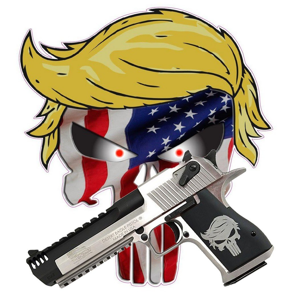 Desert Eagle Punisher Trump