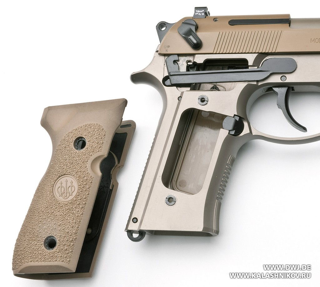 Beretta M9А3, рукоятка
