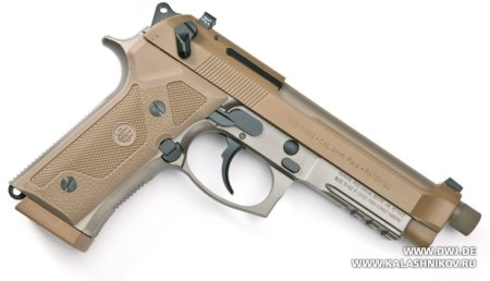 Beretta M9А3, пистолет