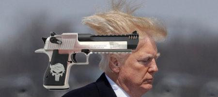 Desert Eagle Punisher Trump