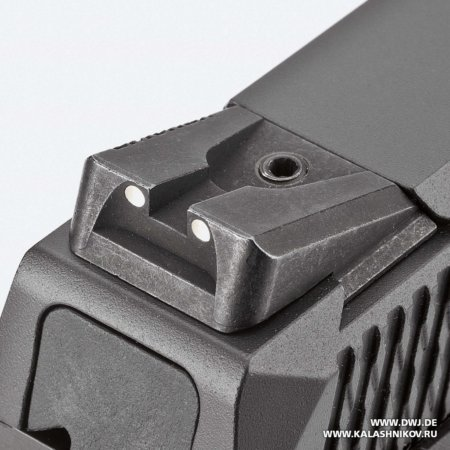 Ruger American, целик