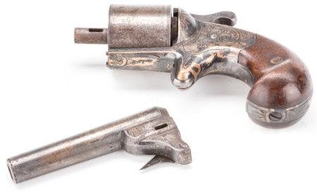 Револьвер мура, сосковый капсюль