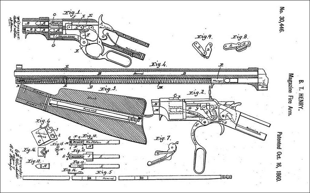 патент на скобу генри