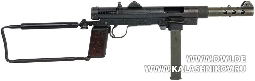 Submachine gun Port Said (m/45)