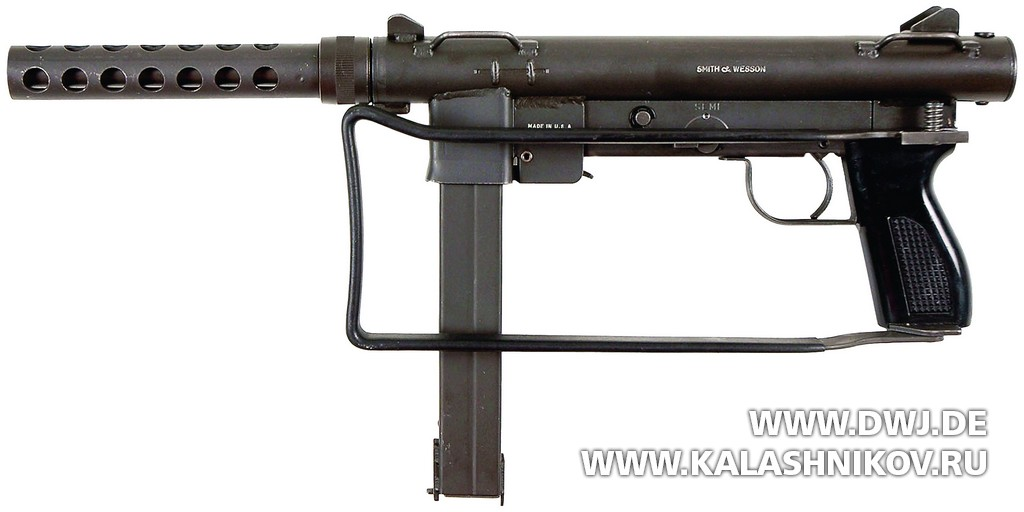 Submachine gun S&W 76 (m/45)