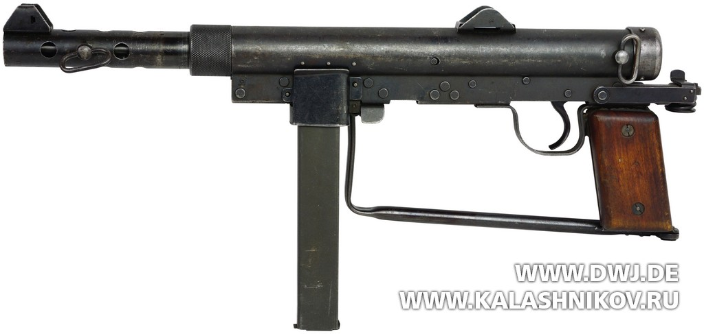 Submachine gun m/45