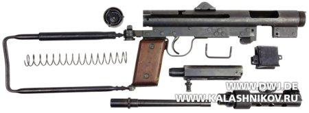 Submachine gun m/45