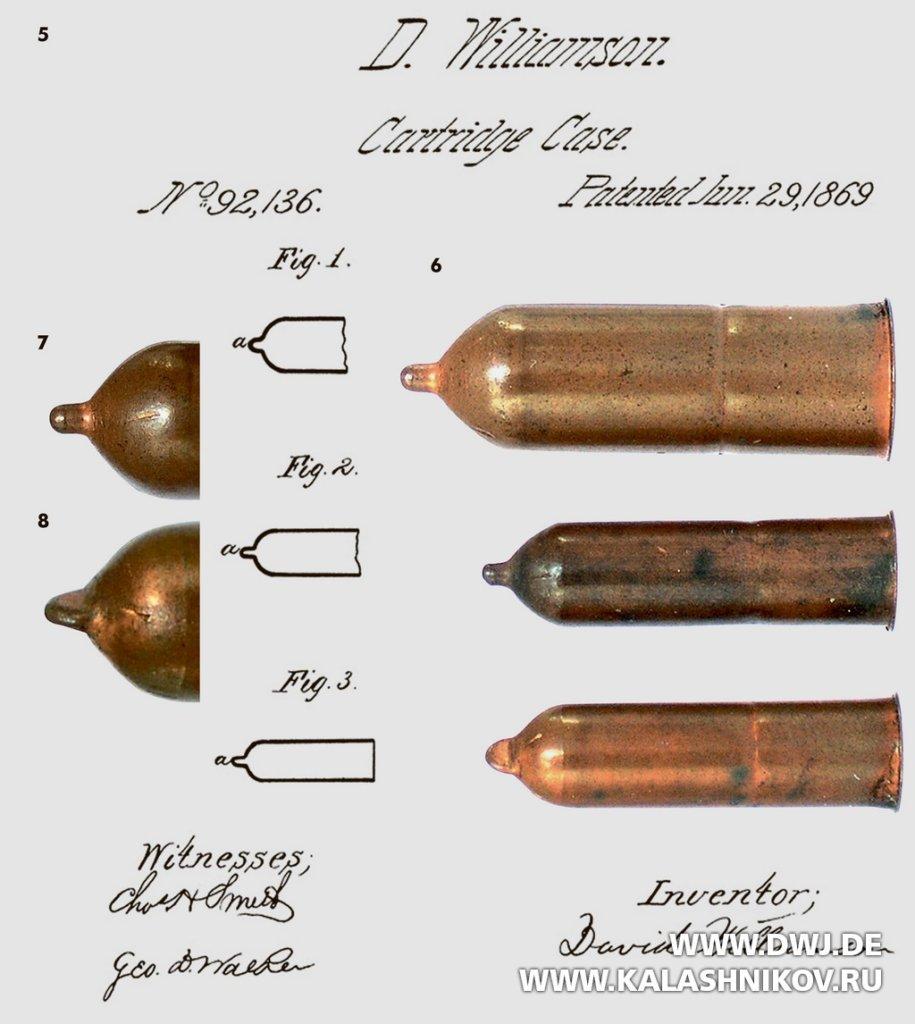 Teat-fire cartridge, сосоковый капсюль