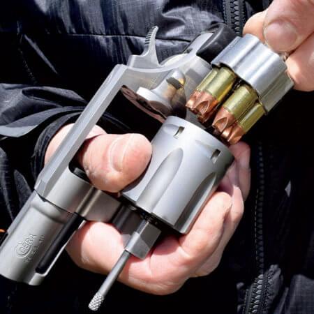 Speedloader, ускоритель заряжания, револьвер