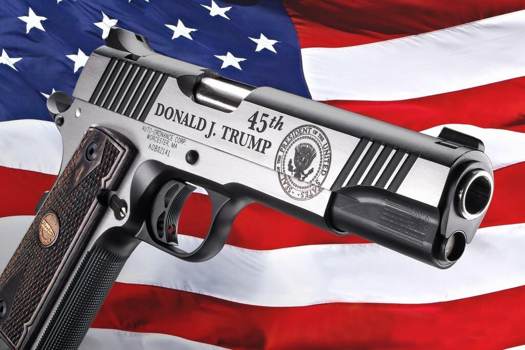 Colt M1911 Trump