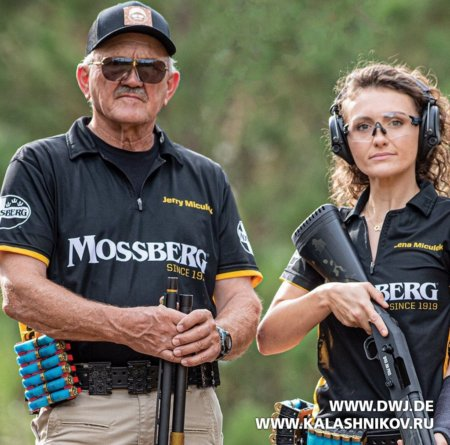 Mossberg 940 JM Pro, Jerry Miculek, Lena Miculek